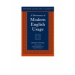 A DICTIONARY OF MODERN ENGLISH USAGE 17T