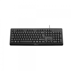 MediaRange Multimedia Keyboard, Wired (Black) (MROS109-GR)